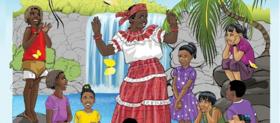Jamaican-Themed Colouring Book